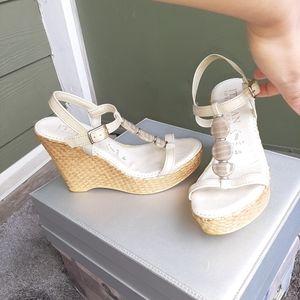 Italian Shoemaker Sandals Size 5 1/2